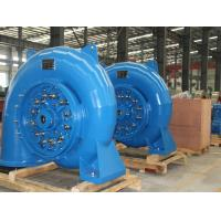 Cheap Small Hydro Turbine Generator Unit 750r/min 1.48m³/s Stainless Steel 400kW for sale