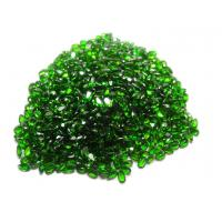 Pear Natural Chrome Diopside For Custom Jewelry AAA Grade 7x5mm Manufactures