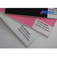 China Eco High Flexible Polymeric PVC Car Vinyl Wrapping with PE Coating 3D Texture on sale