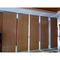 Buy cheap Hanging Operable Accordion Acoustic Room Dividers on Tracks 85mm Width from wholesalers