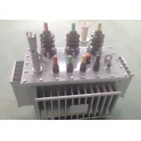 Three Phase Oil Immersed Transformer 10 KV - 35 Kv Transformer OEM / ODM Available Manufactures