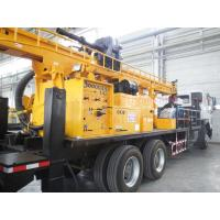 Rotary Mobile Borehole Drilling Machine , Truck Mounted Water Well Drilling Equipment Manufactures