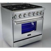 China Stainless Steel Griddle Gas Range Cookers High Performance With Six Burners on sale