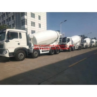 Buy cheap Sinotruk HOWO 8x4 10m3 Concrete Mixer Truck from wholesalers