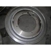 Forging Steel Tire Mould / PU Foam Tyre Mould , Tyre Molds Manufactures