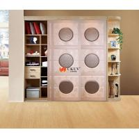 China Kitchen Plastic Remote Control Leather Sliding Door With Aluminum Track w650-1000mm on sale