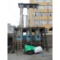 Efficient Water Evaporation Triple Effect Falling Film Thermal Evaporator Manufactures