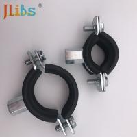 Buy cheap Zinc Plating Steel Cast Iron Pipe Clamps Set Types Square DC01 from wholesalers