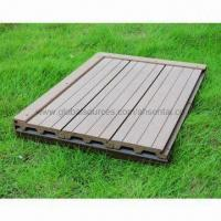 Outdoor Flooring, WPC Decking, High Density, High Degree Of UV Stability Manufactures