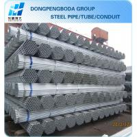 Hot dipped galvanized steel tube China supplier made in China Manufactures