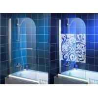 High Purity Clear Bath Shower Screen , Single Tempered Glass Panel Manufactures