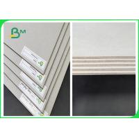 Buy cheap 1.2mm 2mm 3mm Greyboard Two Sides Grey 70 * 100CM 80 * 90CM For Calendars from wholesalers
