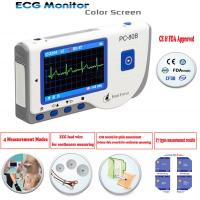 Handheld Portable LCD 30 seconds Quick Measure EKG Machine ECG Monitor Manufactures