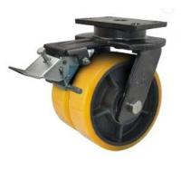 AGV Driving Forklift Caster Wheels / Fork Truck Wheels OEM Available Manufactures
