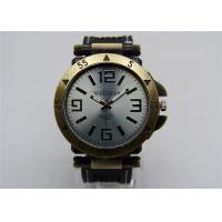 China Vintage Antique Brass Men Quartz Watch Analog Water Resistant on sale