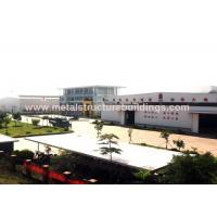 China Anti Seismic Warehouse Steel Buildings With Welded H Steel Structure on sale