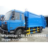 2019s best price dongfeng 12cbm garbage compactor truck for sale, hot sale dongfeng refuse garbage truck for sale Manufactures