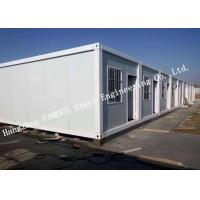 Classroom / Office Units Structural Steel Construction Modular Container House Expansion Project Manufactures
