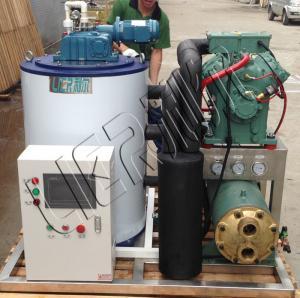High Efficient Seawater Flake Ice Machine 3000kg