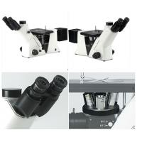 Infinity Optical Inverted Metallurgical Microscope , Mechanical Stage Microscope Manufactures