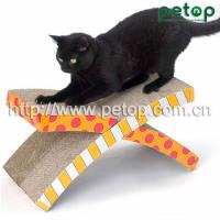 PT1008 Good Selling Shaped Cat Scratcher Lounge Bed Manufactures