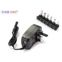 6 DC Tips Selectable Multi Voltage Power Adapter UK Plug Low Defect Rate Manufactures