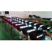 Buy cheap LED Spider 8X10W RGBW 4 in 1 Beam Moving Head DJ Wash Audio Light from wholesalers
