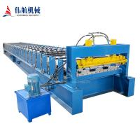 Automatic Floor Deck Color Steel Roll Forming MachineHigh Quality Galvanized Sheet Floor Deck Roll Forming Machine Manufactures