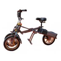 Two wheels front newest Foldable electric scooter / trike with USB charger Manufactures