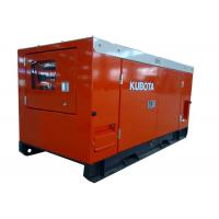 Cheap 6KW - 30KW Kubota low fuel consumption power diesel genset with Stamford for sale