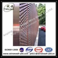 Ornamental & Decorative Expanded metal for wall facade Manufactures