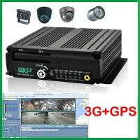Wekomp 4 Channel 3G Wifi GPS SD Card MDVR H.264 For High Speed Transmission Manufactures