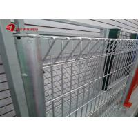 PVC Coated Or Galvanized Rolltop Weld BRC Fencing Mesh Panel For Welded Wire Manufactures