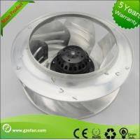 Airflow Backward Curved AC Centrifugal Fan For Air Conditioning 220V Manufactures