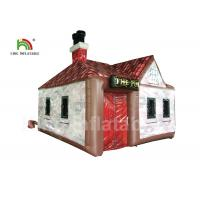 Customized 5x5m PVC Inflatable Event Tent Single Door For Party Bar EN71 Manufactures