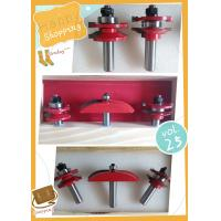"""Rail & Stile With Raised Panel Bit Router Bit Set - Ogee - 1/2"""" Shank Manufactures"""