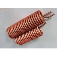Customized Flexible Copper Tube Coil in Domestic Water Boilers