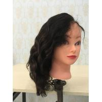 Cheap cheap price hot selling natural color bleached knots with baby hair body wave full lace wigs for sale