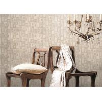 Cheap Breathable Strippable Bedroom / Sitting Room Wallpaper , Anti Static Non Woven Wallpaper for sale