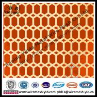 the manufacturer of hexagonal hole perforated metal