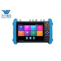 7 Inch IPS Touch Screen CCTV Security Camera Tester , 4K H.265 IP Cctv Camera Video Tester Manufactures