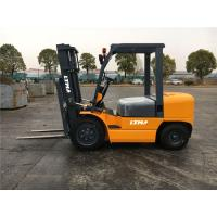 Compact Small Diesel Forklift Truck With Hydraulic / Automatic Transmission