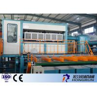 Automatic Copper Molds Apple Tray Making Machine Computer Control Fast Install Manufactures