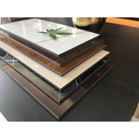 Buy cheap 2021 new type big board for decoration PVC with Bamboo wood sheet WPC sheet use from wholesalers