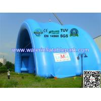 Waterproof PVC Tarpaulin Inflatable Tent / Inflatable Arch Tent With Big Span Manufactures