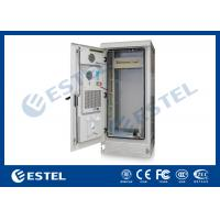 Professional PDU IP55 Outdoor Telecom Cabinet Grey Color 1800X900X900 mm Manufactures