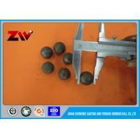 Unbreakable High impact value forged steel grinding balls for ball mill and Cement plant