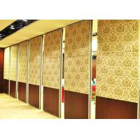 Cheap One Way Sliding Partition Wall Movable Partition Walls Folding Partition Door for sale