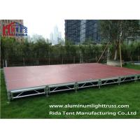 China Smart Stage Collapsible Stage Platform Plywood Board Heavy Loading Weight on sale