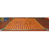 Lifting Polyester Cargo Netting , Flat Webbing Pickup Truck Bed Cargo Net Manufactures